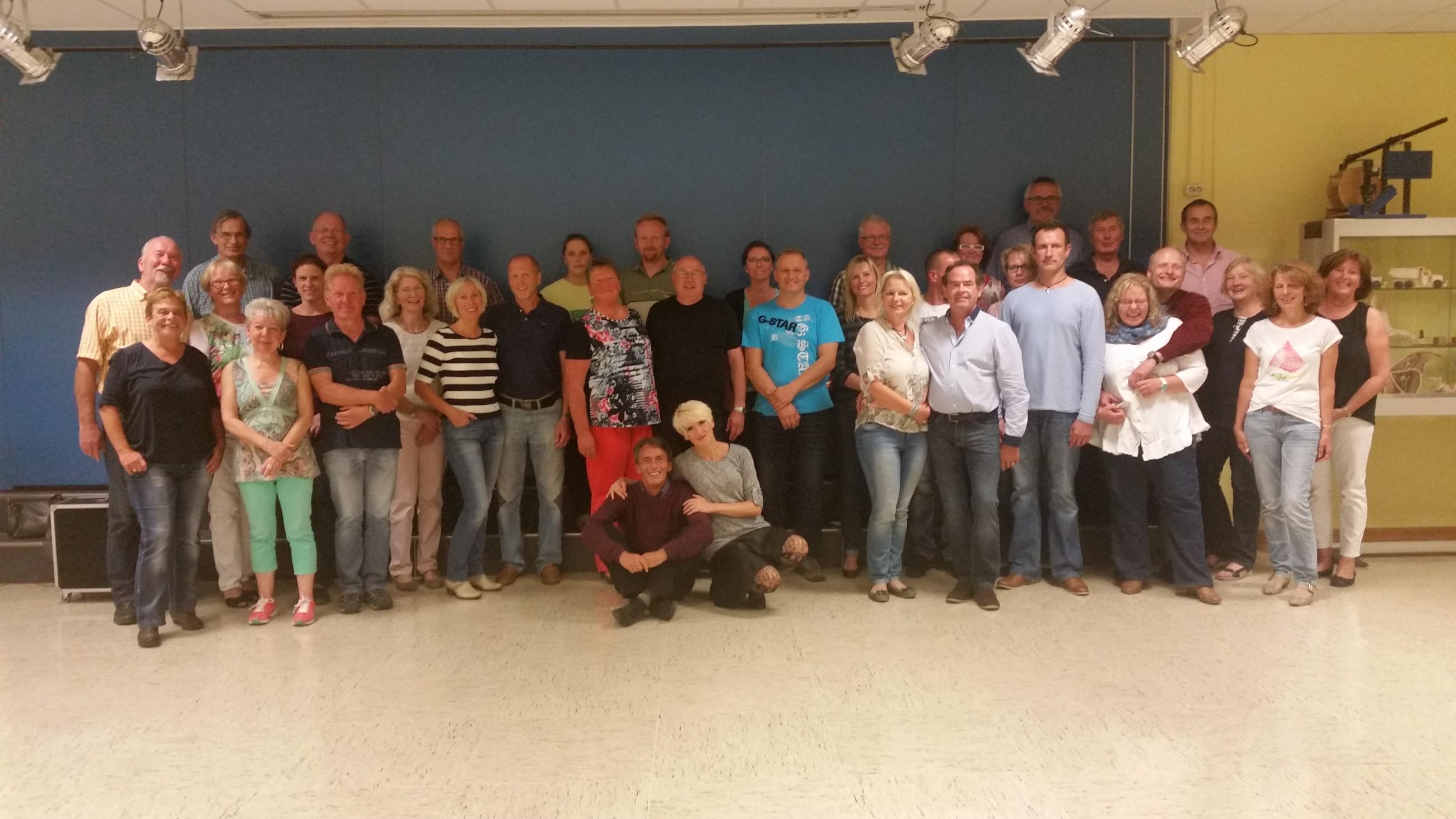 Disco-Chart Workshop beim TuS Bergen